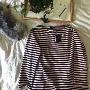 LAZY OAF striped shirt